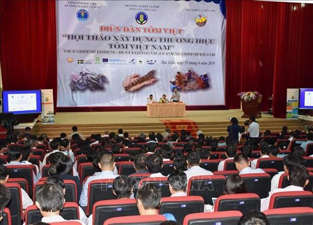 越南努力打造虾类品牌 力争实现出口额达100亿美元目标 hinh anh 1