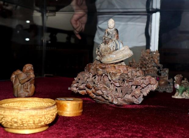 越南海域9艘古沉船文物展:越南文化的精髓 hinh anh 1