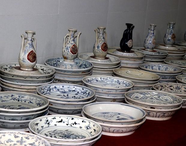 越南海域9艘古沉船文物展:越南文化的精髓 hinh anh 2
