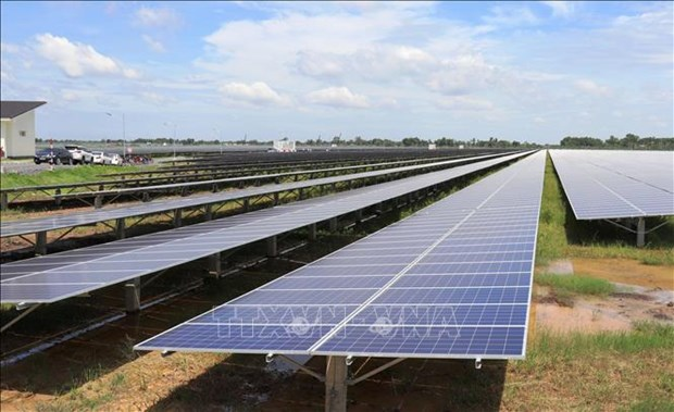 西宁省新增的两个太阳能发电厂落成 hinh anh 2