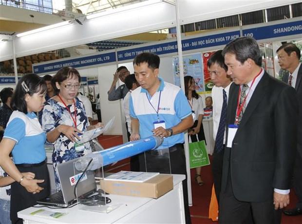 2019年越南国际农业产业系列展会正式开幕 hinh anh 1