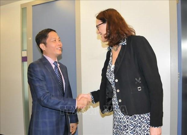 越南与欧盟为《越欧自由贸易协定》早日签署作出积极努力 hinh anh 1