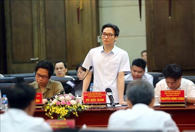 越南政府副总理武德儋就改善经商环境及提高国家竞争力等问题对海防市进行考察 hinh anh 2