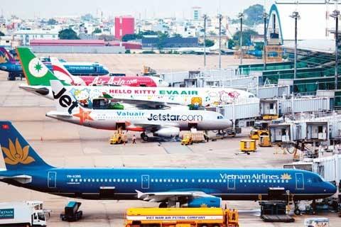 越南航空业保持适度增长 hinh anh 1