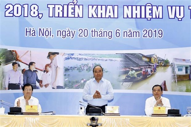 越南一直充满信心能克服并战胜自然灾害 hinh anh 1
