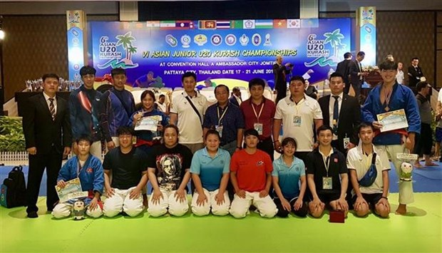 越南队在2019年第6届克拉术亚洲青年锦标赛成果丰硕 hinh anh 1