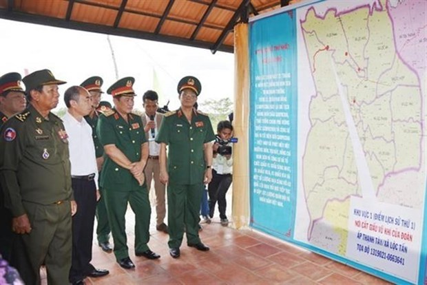 越南与柬埔寨进一步增进友谊之情 hinh anh 2