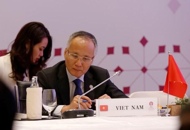 东盟力争今年内完成RCEP谈判 hinh anh 1
