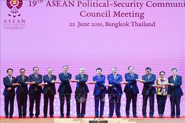 东盟政治安全共同体理事会第19届会议和东盟协调委员会第23届会议在泰国举行 hinh anh 1