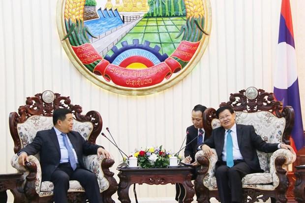 越老两国计划与投资部加强合作 hinh anh 2