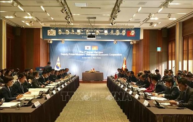 越韩副总理级经济合作对话第一次会议在首尔召开 hinh anh 2