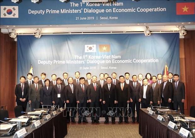 越韩副总理级经济合作对话第一次会议在首尔召开 hinh anh 3