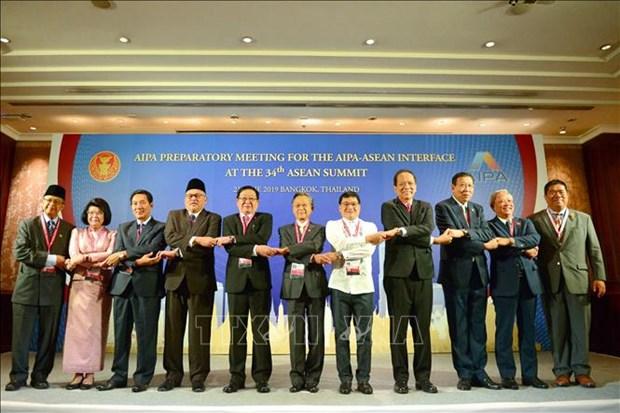 越南国会副主席汪周刘出席东盟议会联盟-东盟领导人会晤 hinh anh 1