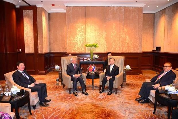 越南国会副主席汪周刘出席东盟议会联盟-东盟领导人会晤 hinh anh 2