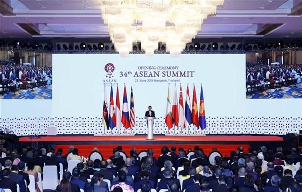 越南政府总理阮春福出席第34届东盟峰会开幕式 hinh anh 2
