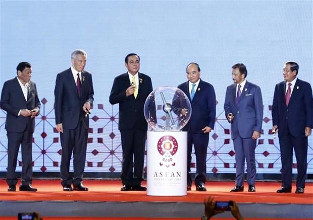 越南政府总理阮春福出席第34届东盟峰会开幕式 hinh anh 3