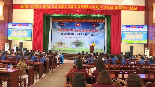 加强柬越老青年学生团结友谊 hinh anh 2