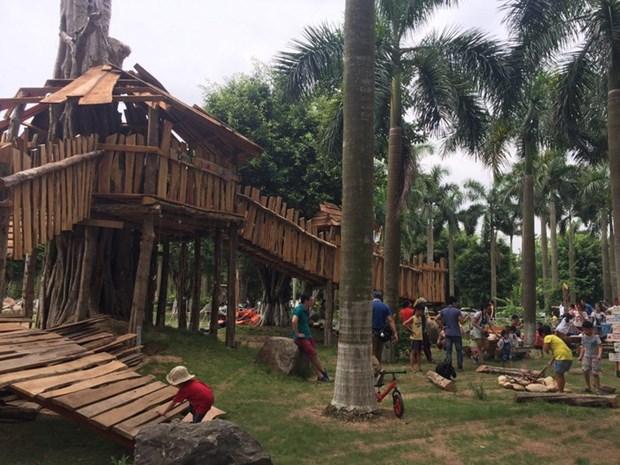 越南首个日本式儿童乐园投入运行 hinh anh 1