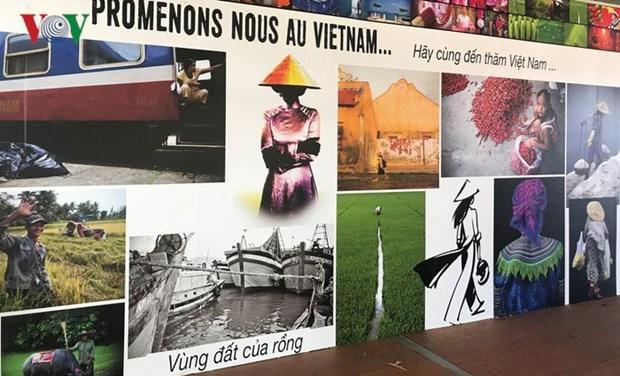 越南文化亮相法国舒瓦西勒鲁瓦市文化节 hinh anh 1