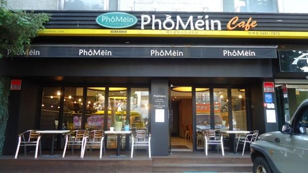 在韩国的越南连锁餐厅受当地食客的青睐 hinh anh 1