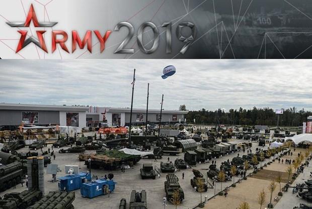 越南出席俄罗斯国际军事技术论坛 hinh anh 1