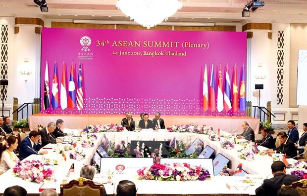 泰国总理巴育·占奥差就第34届东盟峰会所取得结果举行新闻发布会 hinh anh 1