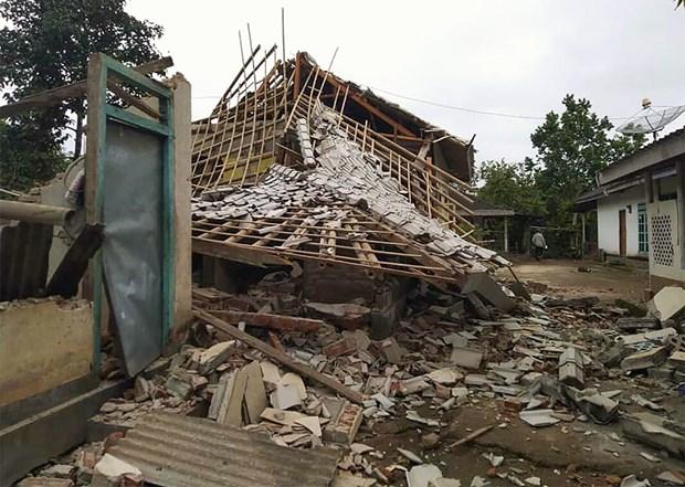 印尼发生里氏7.5级地震 hinh anh 1