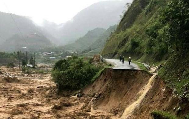 莱州老街等省突降暴雨引发洪水造成重大损失 hinh anh 1