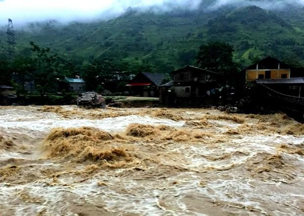 莱州老街等省突降暴雨引发洪水造成重大损失 hinh anh 2