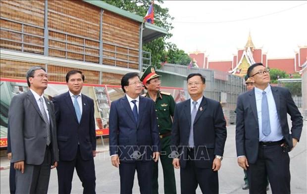 越南政府副总理郑廷勇访问老挝 hinh anh 2