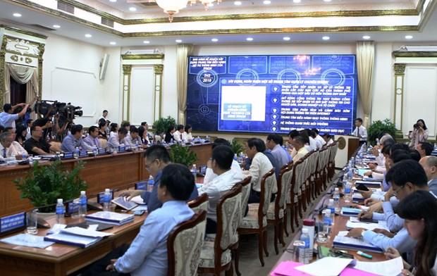 胡志明市制定实施智慧城市建设提案的具体措施 hinh anh 2