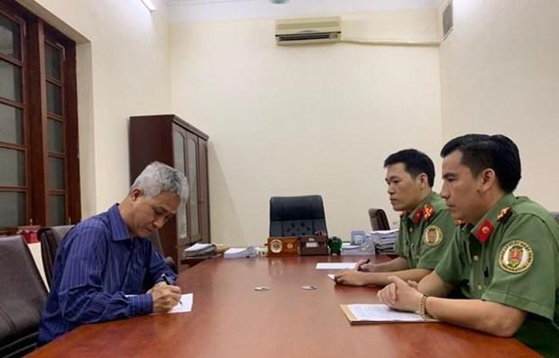 广宁省发现非法居留当导游的两名外国人 hinh anh 1