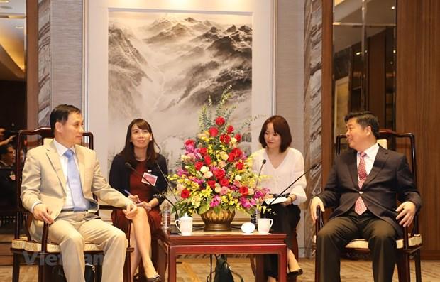 越南与中国广东省加强合作 hinh anh 1