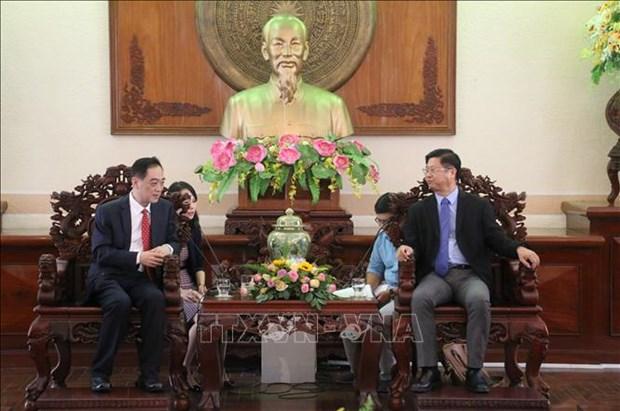 中国希望促进与越南芹苴市的农业合作 hinh anh 1
