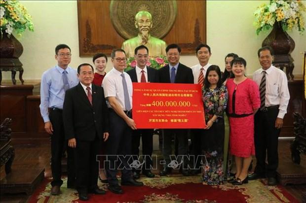 中国希望促进与越南芹苴市的农业合作 hinh anh 2