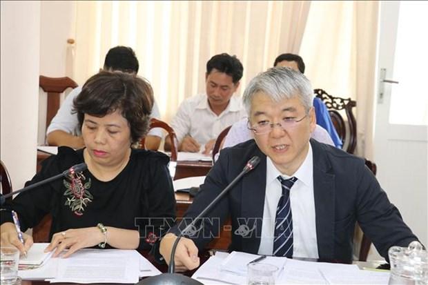 日本国际协力机构组团赴越南芹苴市开展农业考察活动 hinh anh 2