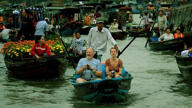 水上集市——河流区域之美 hinh anh 2