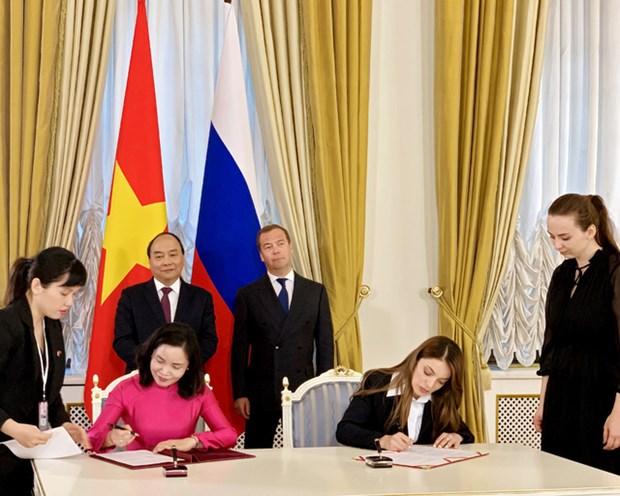越南文化体育与旅游部同俄罗斯旅游局签署合作协议 hinh anh 1