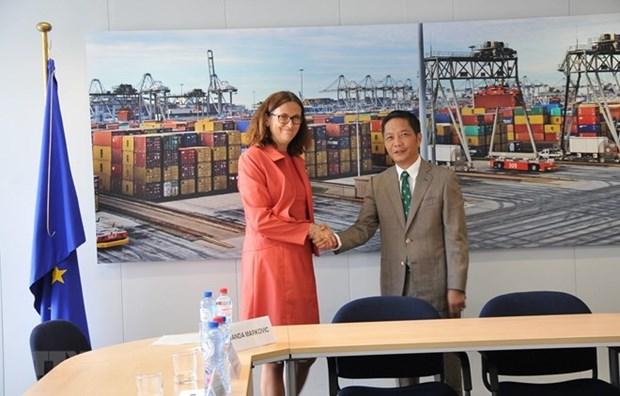 越南与欧盟自由贸易协定(EVFTA) 将于6月30日在河内签署 hinh anh 1