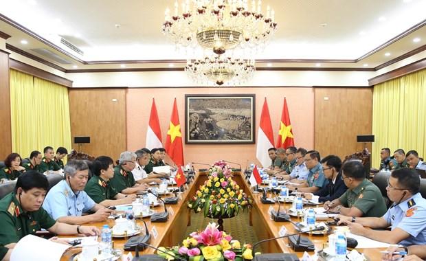 首次越南-印尼防务政策对话举行 hinh anh 1