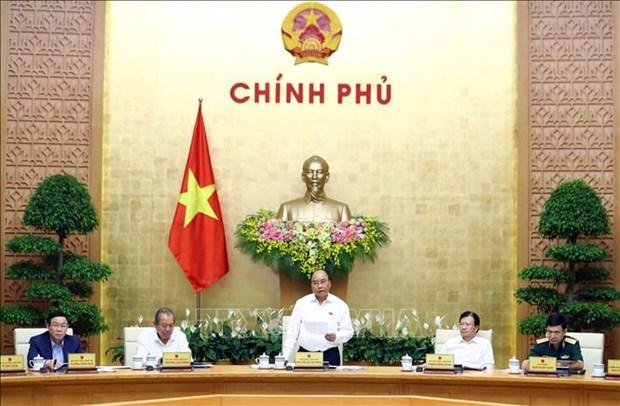 政府总理就2020年经济社会发展计划和国家财政预算方案作出指示 hinh anh 1