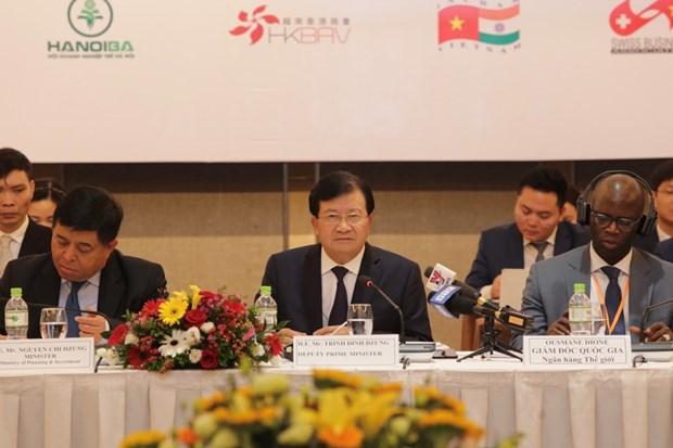 2019年度越南企业中期论坛:大力推动私营经济发展 hinh anh 2