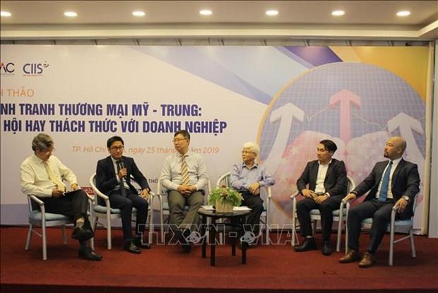 中美贸易战下越南企业面临的风险 hinh anh 1