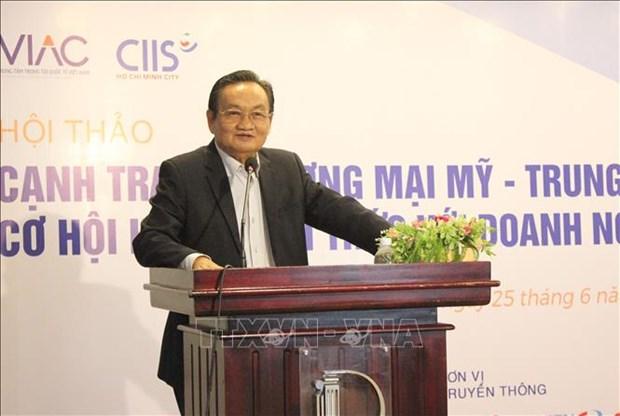 中美贸易战下越南企业面临的风险 hinh anh 2