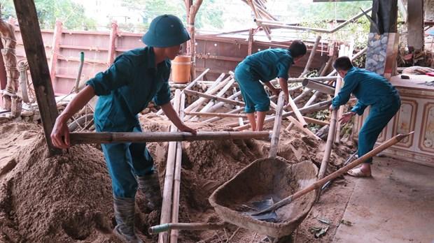 北部山区各省全力推进灾后恢复重建工作 hinh anh 2