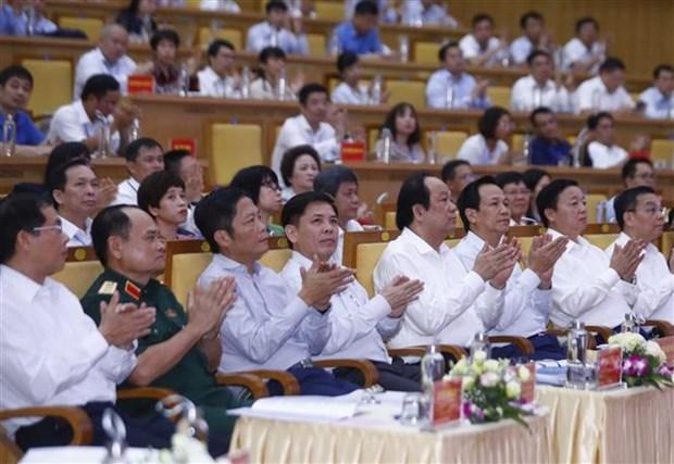 政府总理阮春福:北部重点经济区继续发挥全国政治、经济和文化中心 hinh anh 2