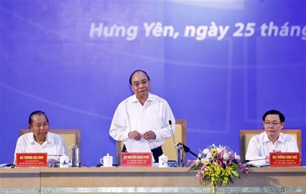 政府总理阮春福:北部重点经济区继续发挥全国政治、经济和文化中心 hinh anh 1