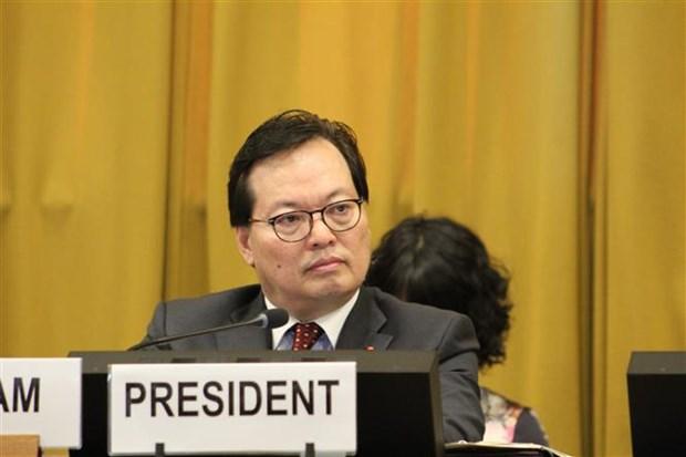 越南担任联合国裁军谈判会议主席 hinh anh 2