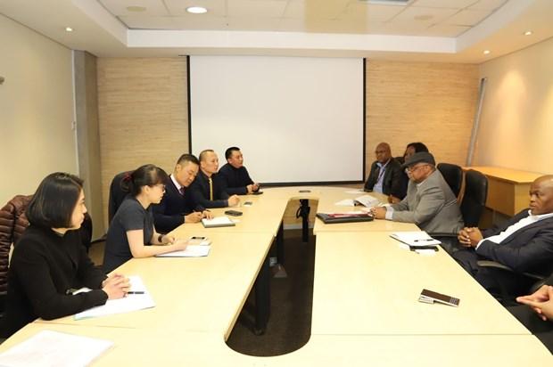 越南与南非就制定自贸协定的提议交换意见 hinh anh 1