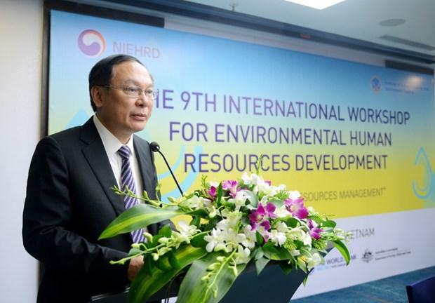 加强环境领域中人力资源开发的国际合作 hinh anh 1